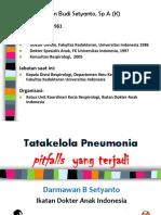 Pitfalls Pneumonia - Seminar Wpd 261112