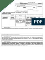 Secuencia Formativa y Didactica Tic 2013