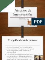 Principios de InterpretaciónProfecia
