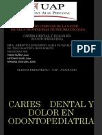 Caries Dental y Dolor en Odontopediatria