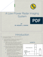 A Low Power Radar Imaging System