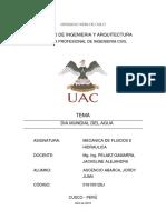 Monografia Dia Mundial Del Agua-Jordy Juan Ascencio Abarca