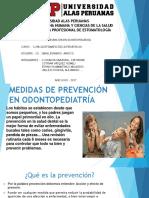 Exposicion Medidas de Prevencion en Odontopediatria I