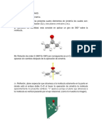 Molecula de Acetona