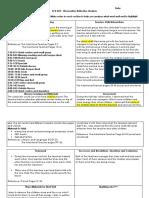classroom observation reflective analysis ecd 243