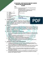 42073040 Silabo Legislación Educacional PRIM Docx