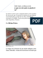 Elsa Osorio y Doble fondo, su última novela_Silvina Friera.docx