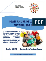 Plan Tutorial de Aula 2018