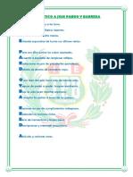 Acrostico a Jose Pardo y Barreda Colegio