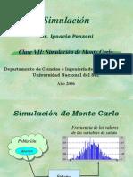 SIM 2006 - Clase 7 (Simulación de Monte Carlo)