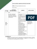 Informe tutoria 2013