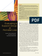 (2001) Evaluating a Support Group for Perinatal Loss