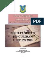 Buku Pengurusan Pss 2018