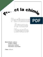 Proiect Chimie - Parfumuri Arome. Esente