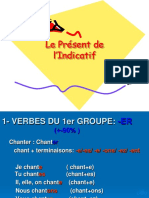 Le Prsent de Lindicatif-power Point (1)