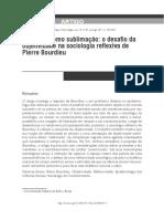 PETERS, Gabriel - A Ciência Como Sublimacao _ o Desafio Da Objetividade