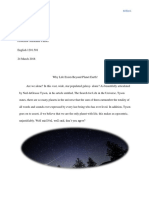 final research project- life beyond earth