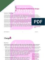 Understanding Trends in Consumer Health Device Design