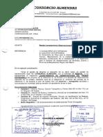 1. Carta 21 Levantamiento de Observaciones de 1er Entregable Consorcio Almendra