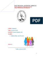 Inclusion Social-lenguaje II