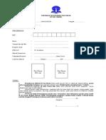 Form Foto Ijazah