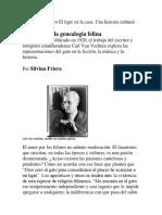 En Busca de La Genealogía Felina_Silvina Friera