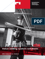 Hilti Installation Systems Catalogue_2013