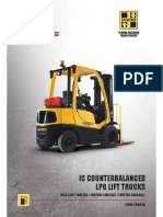 Hyster LPG Forklift
