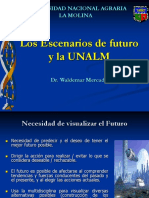 4 Los Escenarios Del Futuro y La Unalm Wlademar Mercado