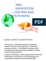 7. Segmentation, Targeting & Positioning