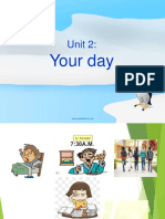 Unit 2 Your Day