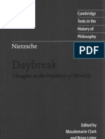 Nietzsche Daybreak