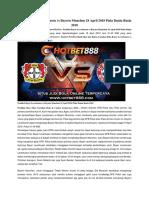 Prediksi Bayer Leverkusen vs Bayern Munchen 18 April 2018 Piala Dunia Rusia 2018