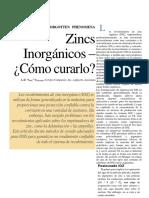 Inorganic Zincs-How Do They Cure