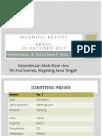 Morning Report - 30 Oktober 2017 - Aprilia Rein