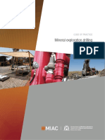 Mineral Exploration Drilling - Code of Practice