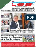 Periódico Lea Lunes 16 de Abril Del 2018
