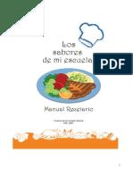 Los sabores de mi escuela - Manual Recetario.pdf