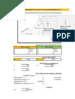 Excel Geomallas