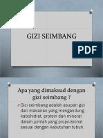 3.Gizi Seimbang