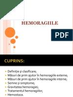 Hemoragii - Master II