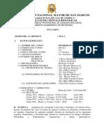 2015-1 Diversidad Vegetal Prof. h. Montoya Plan 2013
