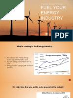 Progressive Marketing Strategies To Fuel your  Energy Industry