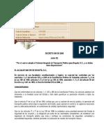 2009 Decreto 309 SITP Publicada