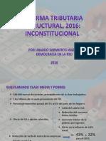 Reforma Tributaria Presentación Power Point Libardo Sarmiento Angulo