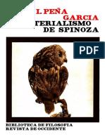 Peña, Vidal. El Materialismo de Spinoza. Madrid Revista de Occidente, 1974. Pág. 190