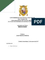 Informe 1 - FISICA 1 unmsm