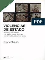 Pilar Calveiro Violencias de Estado
