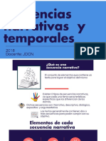 Secuencias Narrativas y Temporales