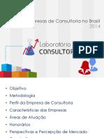 Perfil Das Empresas de Consultoria No Brasil Outubro 2014